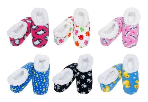 snoozies slippers australia snoozies womens small size 3 to 4 various
