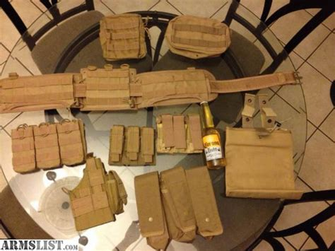 molle gear setup armslist for sale coyote molle gear lot
