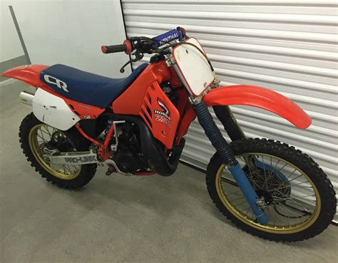 250 2 stroke motocross bikes for sale 1987 cr250r vintage dirt bike motorcycle honda 250 cr 80s