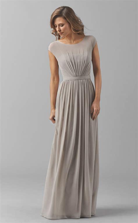 Bridesmaid Dresses Area - chiffon bridesmaid dress with sleeves bd