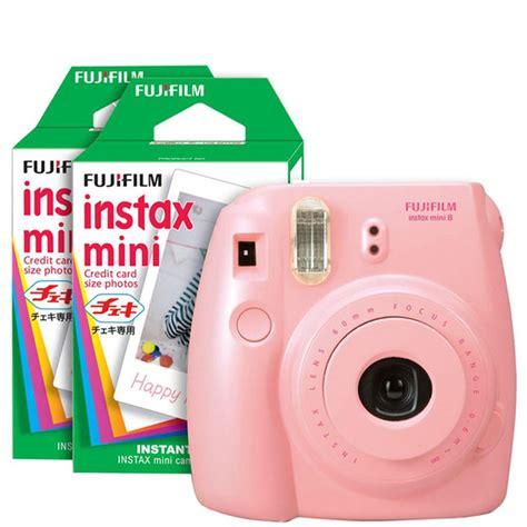 Fujifilm Instax Mini 8 Pink fujifilm instax mini 8 instant photo bundle with 40