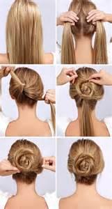 a and easy hairstyle i can fo myself まるでプリンセス 特別な日に挑戦したい 薔薇ヘアの作り方 myreco マイリコ