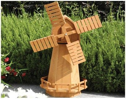 garden garden  world garden windmill wooden