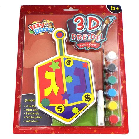 3d dreidel template 3d dreidel craft