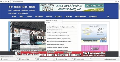 daily record jobs section anson record anson record rolls out new website