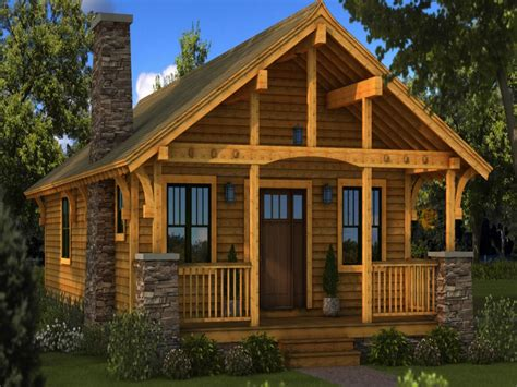 3 Bedroom Bungalow by House Plan Small Log Cabin Homes Plans One Story Cabin