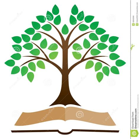 tree books tree of knowledge clipart clipartsgram