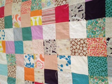 A Patchwork Quilt - how to make a patchwork quilt