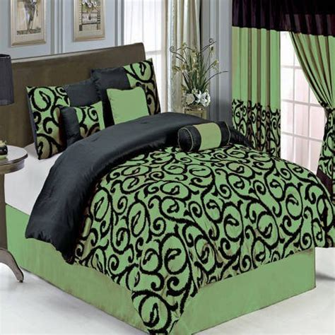 lime green bedding sets lime green and black comforter and bedding sets