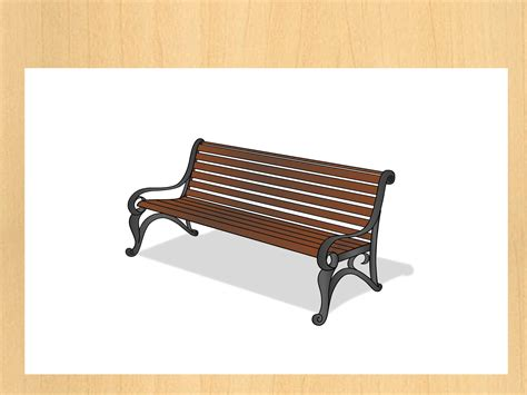 bench drawing how to draw a park bench lesson website park tool