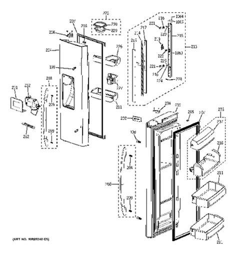 ge cafe refrigerator wiring diagram efcaviation