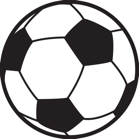 Balls Outline by Soccer Outline Free Clip Free Clip On Clipart Library