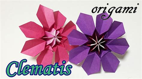 Cool Origami Flowers - cool origami flowers tutorial how to make a paper