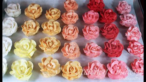 buttercream color assorted colors buttercream roses