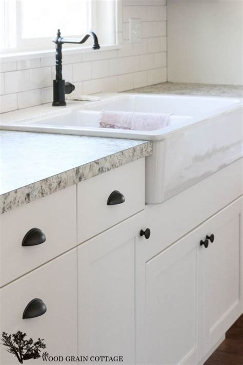 cabinet hardware for white cabinets fixer upper update cabinet hardware the white cabinets