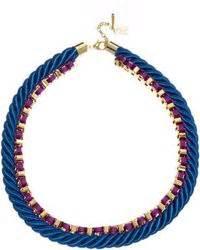 Zara Chain Pearl Premium 1 zara cord chain necklace with coloured rhinestones and