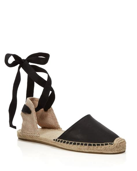 espadrille flat shoes soludos espadrille flat sandals classic ankle wrap in