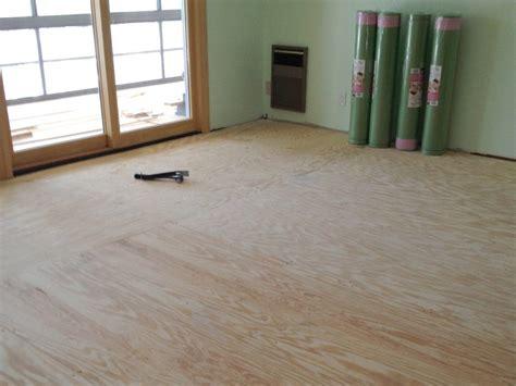 Best Subfloor For Laminate Flooring by Preparing Subfloor For Laminate Flooring Wood And Concrete Subfloors