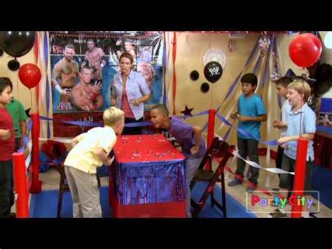 16 Year Old Bedroom Ideas wwe birthday party ideas youtube