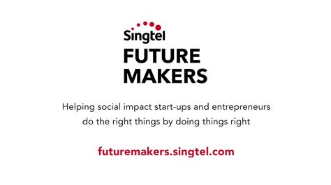 awards singtel singtel future makers awards ceremony video youtube