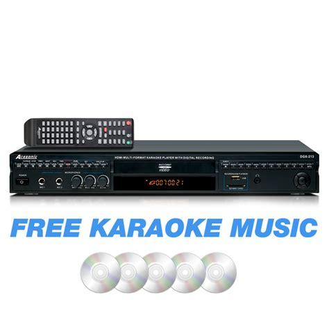 format video karaoke acesonic dgx 213 hdmi multi format karaoke player