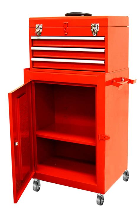 top chest w 3 sliding rolling cabinet tool storage chest