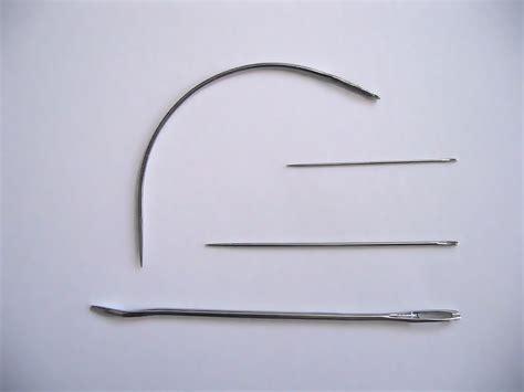 the needle sewing needle