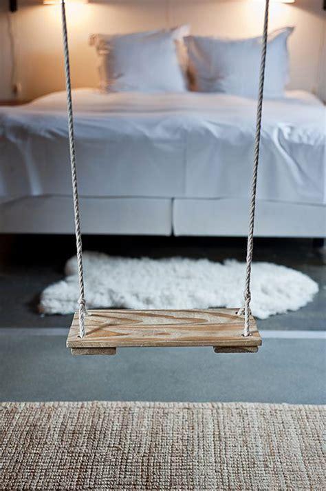 loft bedroom with swings dream house
