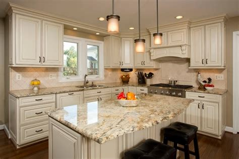 white cabinets with river white granite golden garnet granite kitchen countertop ideas granite