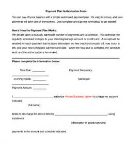 Patient Payment Agreement Letter Payment Plan Form Nomadconvoy Co