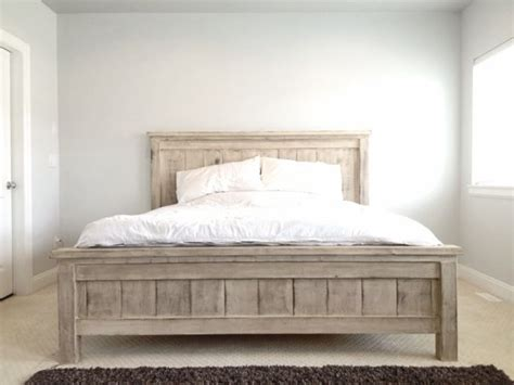 farmhouse bed frame best 25 farmhouse bed ideas on pinterest woodworking