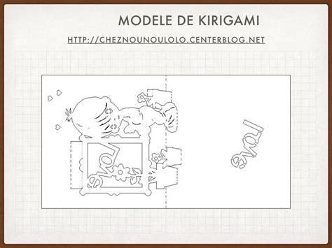 Modele Kirigami