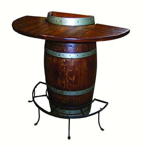 Half Barrel Table by Half Barrel Bistro Table 5011