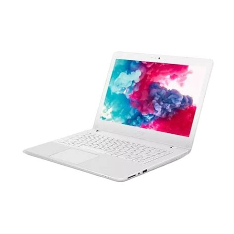 jual asus a442ur ga044t notebook white 14 inch i5