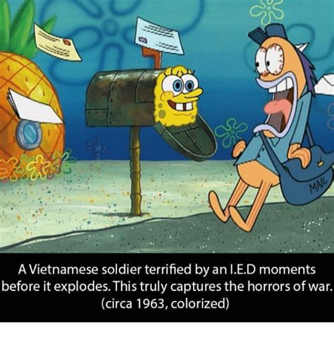 Circa Memes - a vietnamese soldier terrified by an ied moments before it explodes this truly captures the
