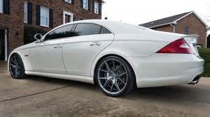 2008 mercedes cls 63 amg on verde axis wheels