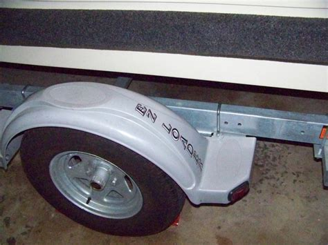 ez loader trailer plastic fender install questions arima - Angled Boat Trailer Fenders