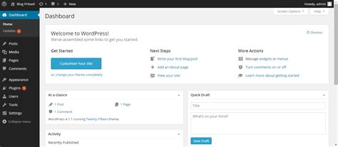 tutorial membuat web dengan wordpress offline tutorial membuat website dengan wordpress bagian 2