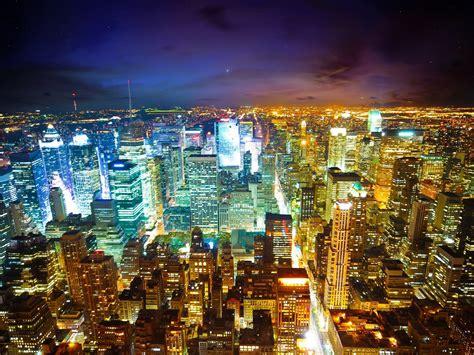 new york city at night 2 wallpaper 2560x1600