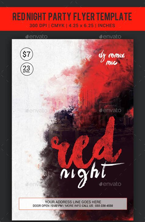 marvelous red flyer templates 12 download documents in