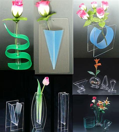 acrylic home decor home decor tall acrylic vases wholesale beautiful clear