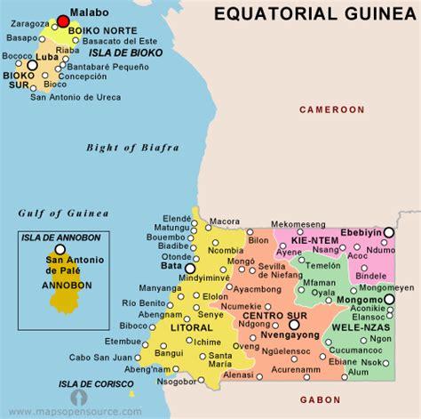 guinea ecuatorial map equatorial map 82774 notefolio