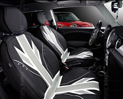 mini convertible car seat covers black union leather four seasons leather car seat