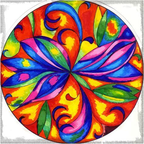 Imagenes Mandalas De Colores | las fotos de mandalas a color para imprimir dibujos de
