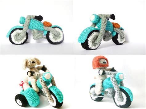 amigurumi motorcycle pattern 1000 images about handarbeiten on pinterest motorbikes
