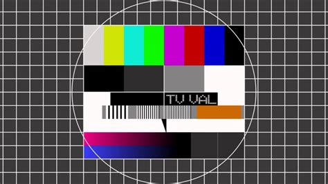 tv test pattern watch international television test pattern youtube