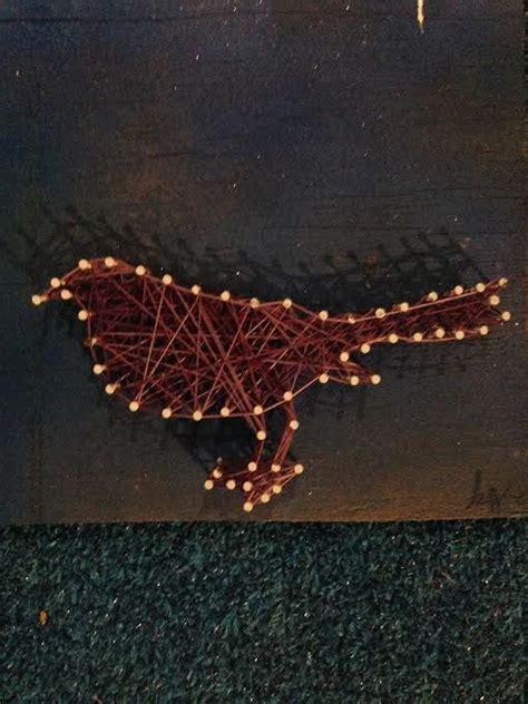 Bird String - 80 beste afbeeldingen wanddecoratie zelf maken op