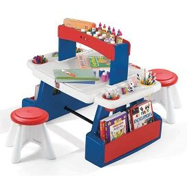 Step2 Creative Projects Table Includes Two Stools by Step2 Creative Projects Table