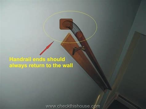 how to attach banister to wall stair handrails and guardrails safety issues