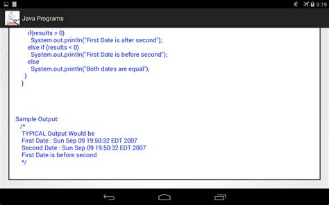 java swing programs exles with output 100 java programs with output android apps on google play
